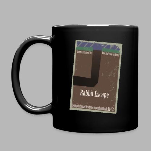 Rabbit Escape poster jpg - Full Colour Mug