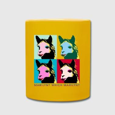 Marilyn Lama Warhol A - Tasse einfarbig
