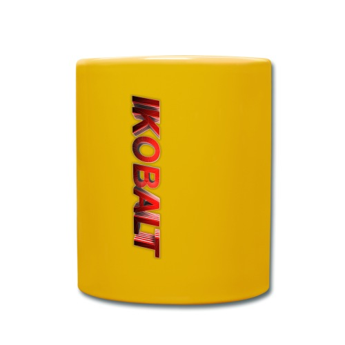 ikobat txt png - Full Colour Mug