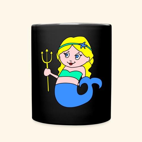 little mermaid blonde - Full Colour Mug