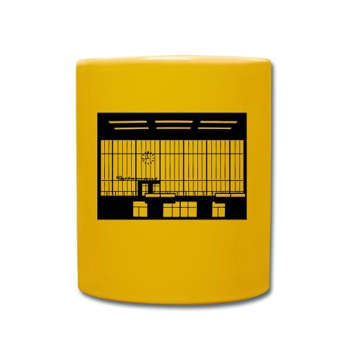 Abfertigungshalle THF - Tasse einfarbig