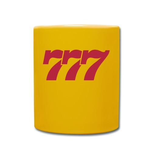 logo-777-vector - Tasse einfarbig
