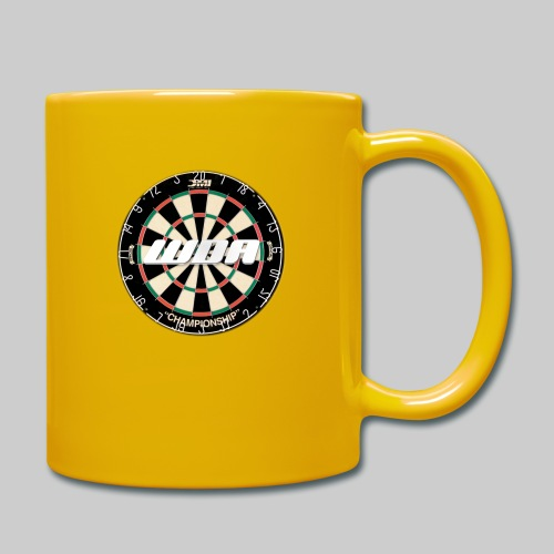 wda dartboard logo - Full Colour Mug
