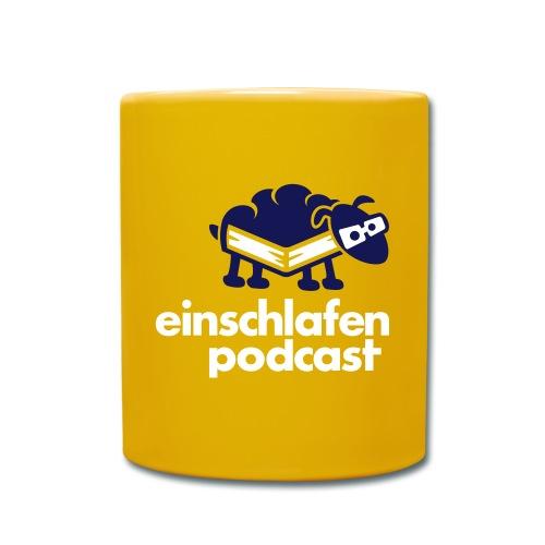 einschafenpodcast logokleinnobgnoclaimre - Tasse einfarbig