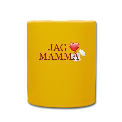 Jag älskar mamma - Enfärgad mugg