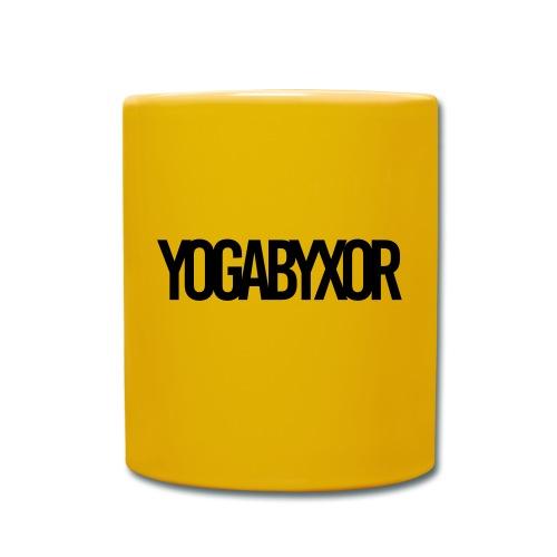 yogabyxor1 - Enfärgad mugg