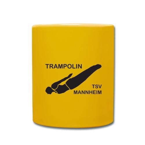 Trampolin Logo Mannheim - Tasse einfarbig