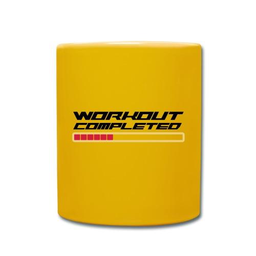 Workout Komplett - Tasse einfarbig