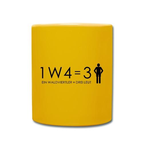 1W4 3L - Tasse einfarbig