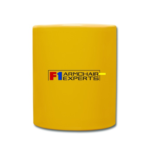 F1 Armchair Experts Logo BK - Full Colour Mug