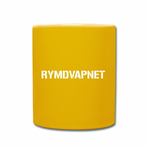 Rymdvapnet -Royal Swedish Space Force - Enfärgad mugg