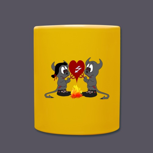 Devils Love - Tasse einfarbig