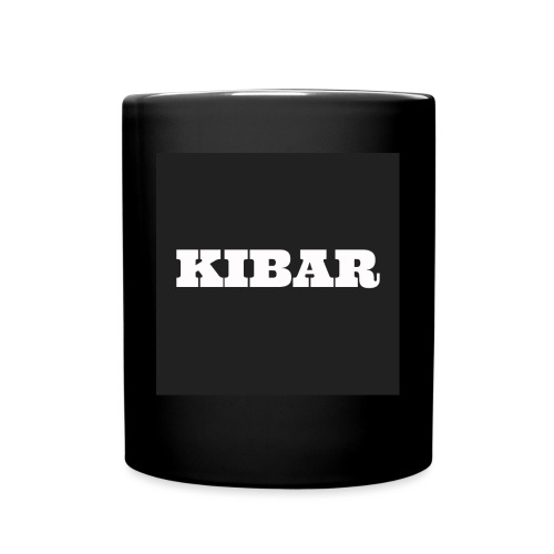 KIBAR - Ensfarvet krus