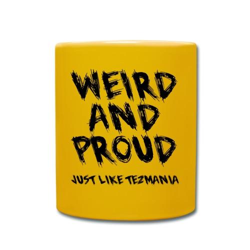 Weird and proud - Enfärgad mugg