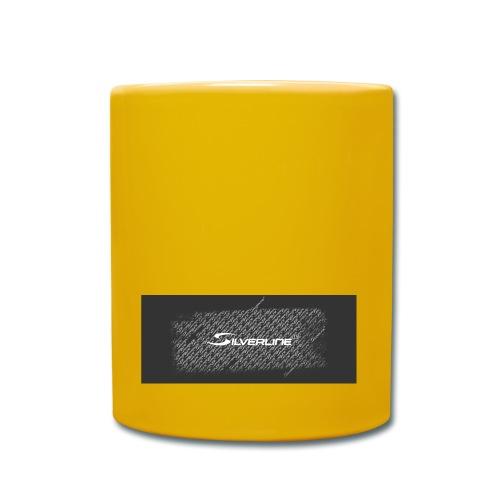 Silverline Muster - Tasse einfarbig