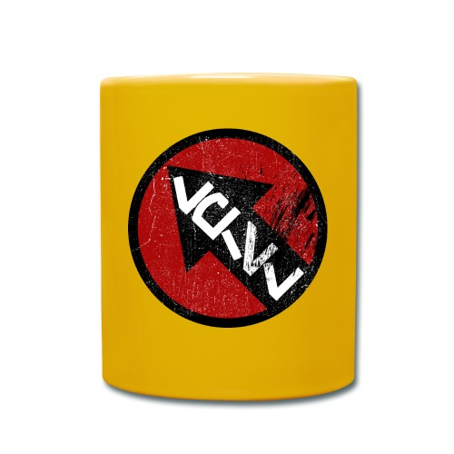 emblem grunge - Ensfarget kopp