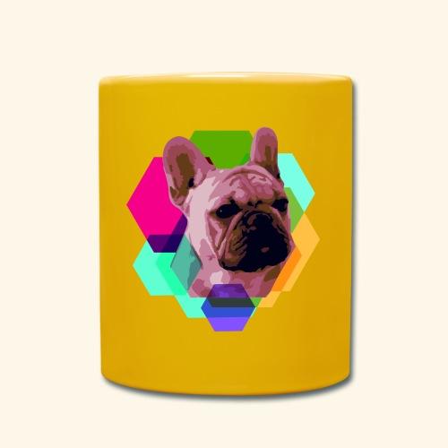 French Bulldog head - Mug uni