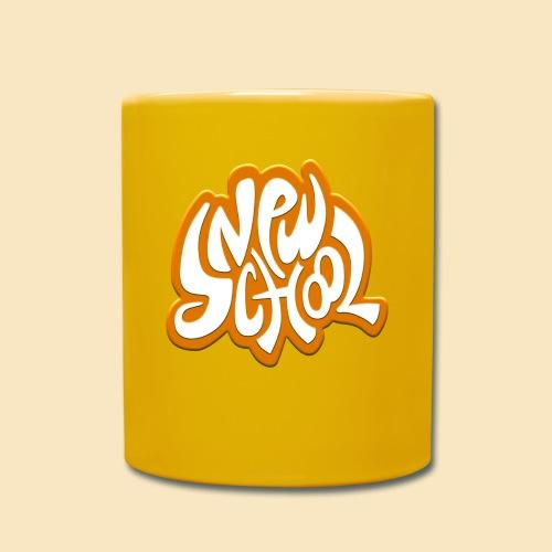 New School orange - Tasse einfarbig