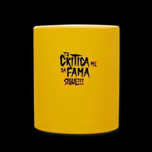 CRITICA - Taza de un color