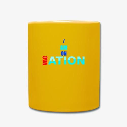 VACation - Tasse einfarbig