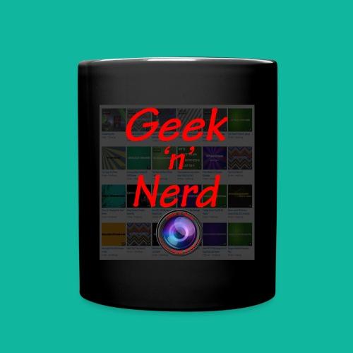Geek n Nerd Logo jpg - Full Colour Mug