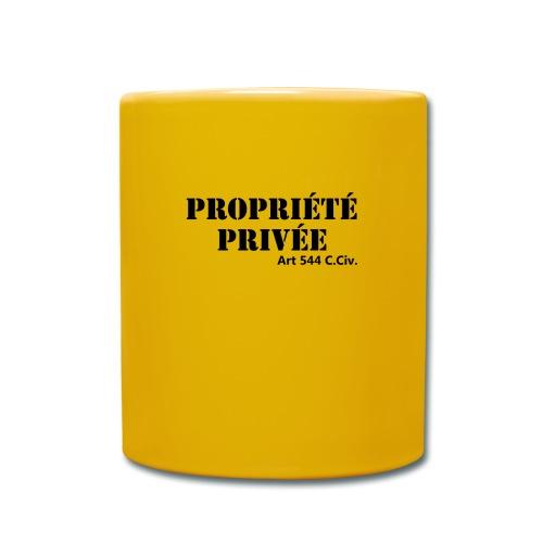 Propriété privée - Mug uni