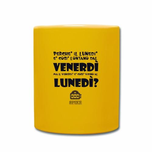 SPIKE-lunedi-venerdi-nero - Tazza monocolore