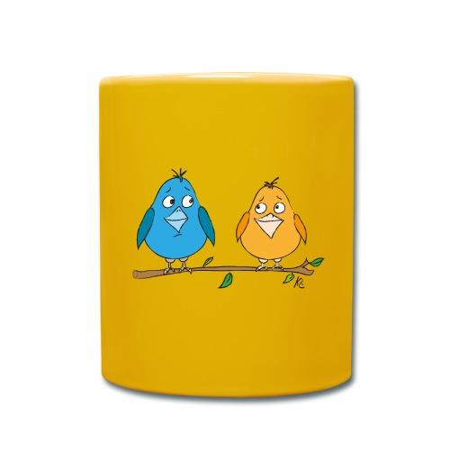 Birds - Tasse einfarbig