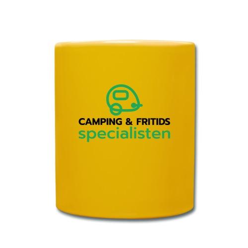 Camping & Fritidsspecialisten - Enfärgad mugg