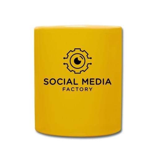 Social Media Factory Logo - Tasse einfarbig