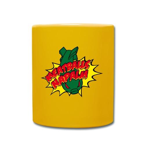 Meatballs logo - Tasse einfarbig