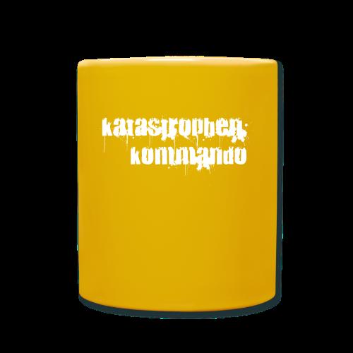 KK Logo weiß - Tasse einfarbig
