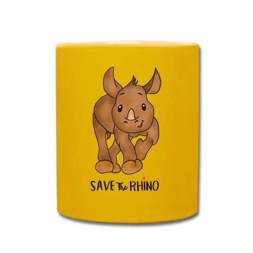 Save the Rhino - Full Colour Mug