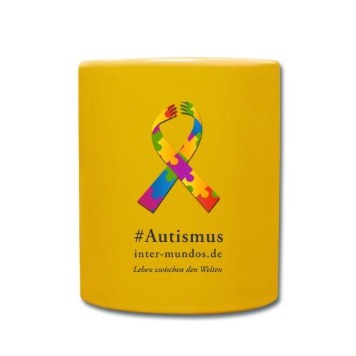 Inter-Mundos Autismus-Schleife - Tasse einfarbig