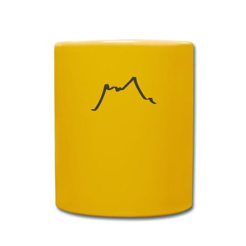 Berge - Tasse einfarbig