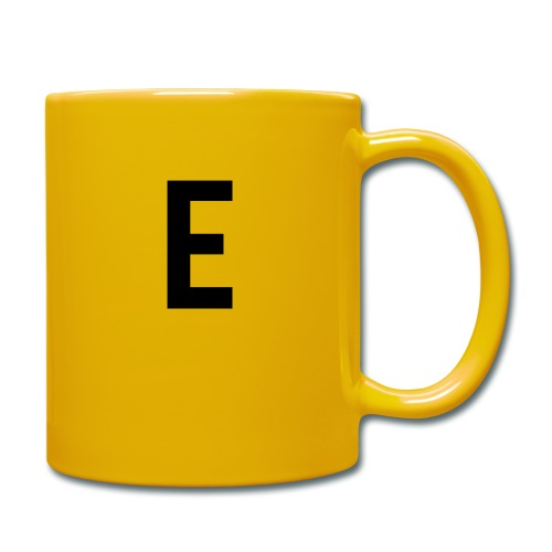 letter e 512 png - Full Colour Mug