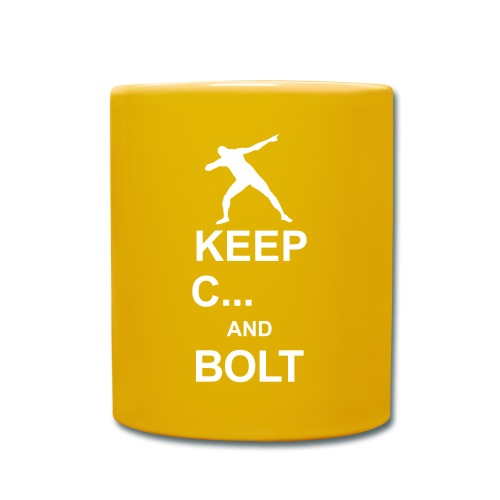 Keep Calm And... Bolt 2c - Full Colour Mug