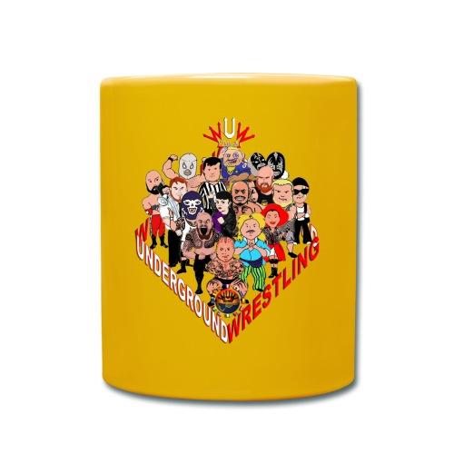 comics-wrestler - Tasse einfarbig
