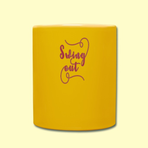 Swing Out Lindy Hop Vintage - Swing Retro - Tasse einfarbig