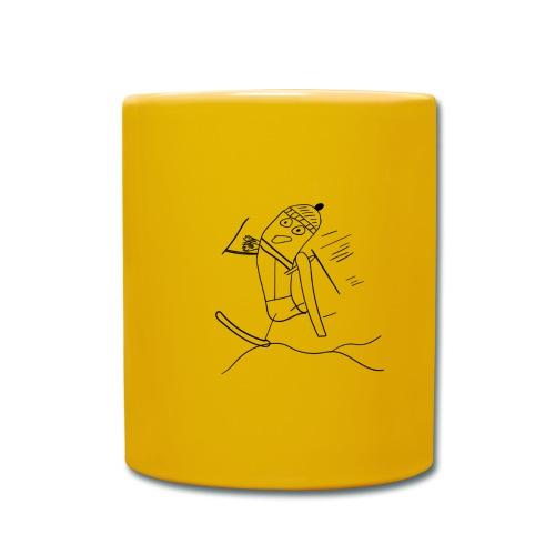 Skisocke - Tasse einfarbig