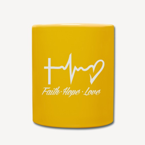 FAITH HOPE LOVE - Full Colour Mug