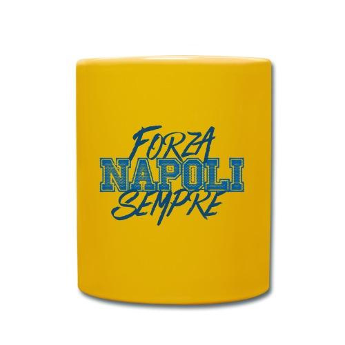 Forza Napoli Sempre - Tazza monocolore