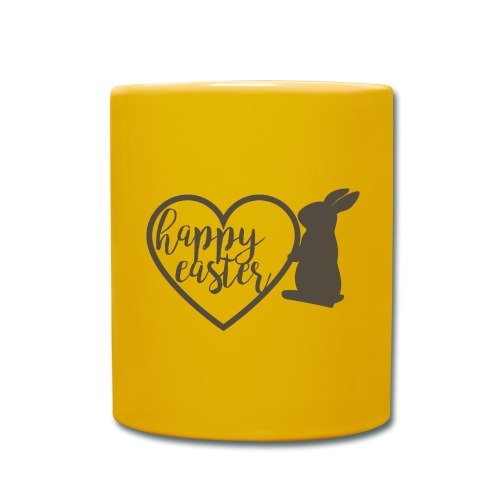 Happy Easter - Tasse einfarbig
