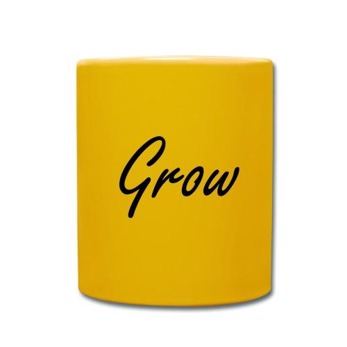 Grow - Tasse einfarbig