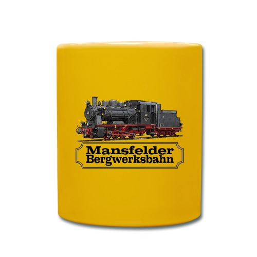 mansfelder bergwerksbahn dampflok 1 - Tasse einfarbig