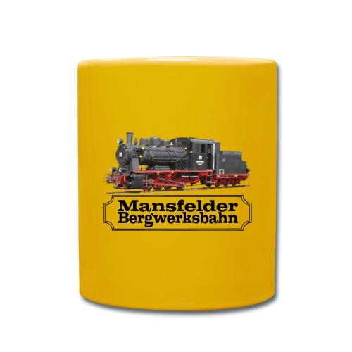 mansfelder bergwerksbahn dampflok 3 - Tasse einfarbig