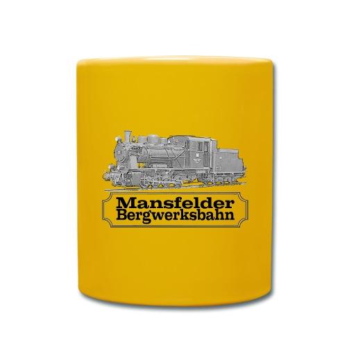 mansfelder bergwerksbahn dampflok 2 - Tasse einfarbig