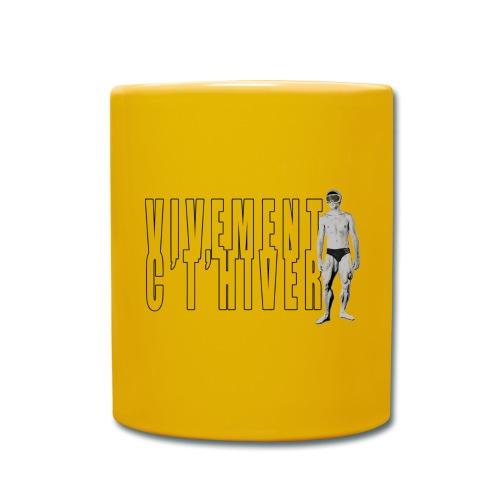 TELEMARK Vivement cet Hiver - Mug uni