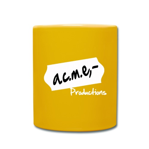 acmeproductionswhite - Tasse einfarbig