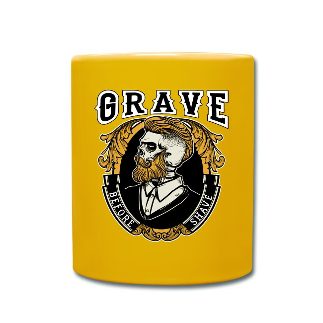 Grave Before Shave Bearded